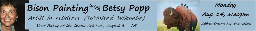 Betsy Popp workshop, August 15, 5:50pm