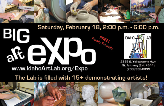 Big Art Expo is Sat, February 18, 2 - 6pm