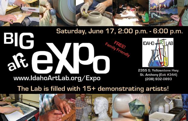 Big Art Expo flier
